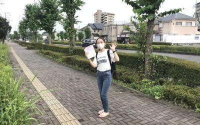 立川砂川町周辺でチラシ配りしてきました〜☆